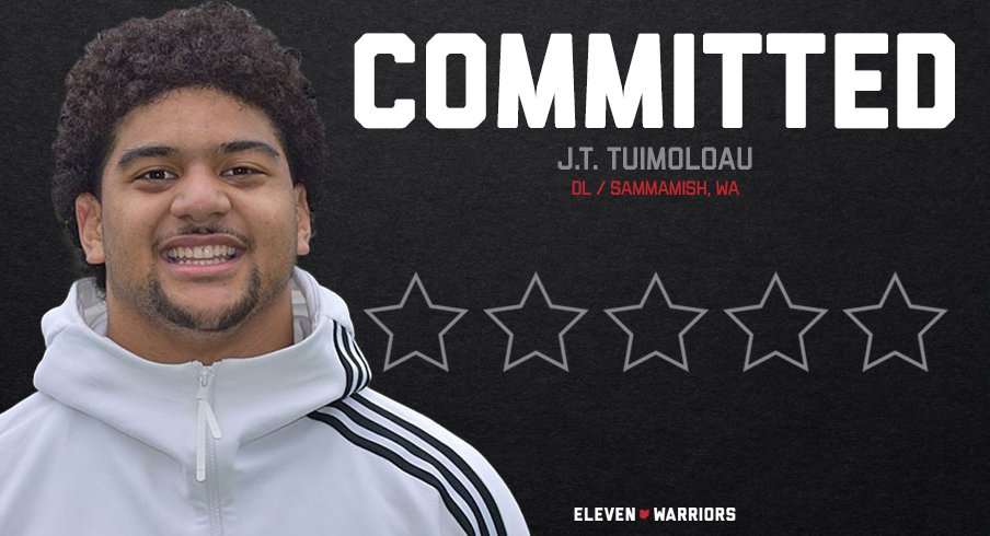 Five-Star Defensive End J.T. Tuimoloau Commits to Ohio State
