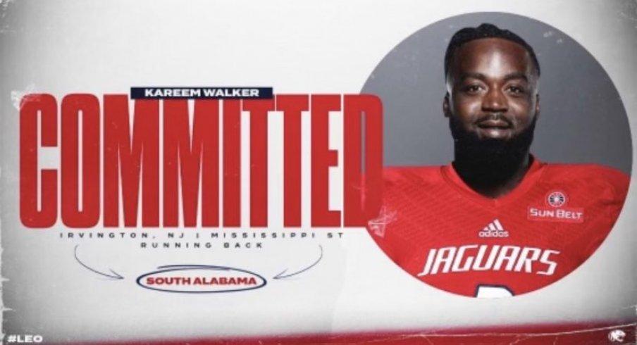 Kareem Walker is on the move again.