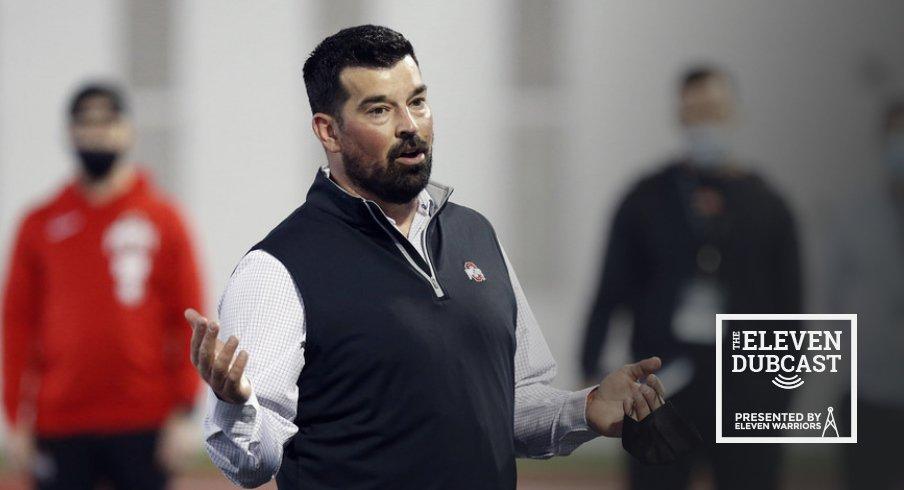 Ohio State head football coach Ryan Day
