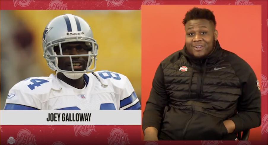 Dawand Jones doesn't know Joey Galloway.