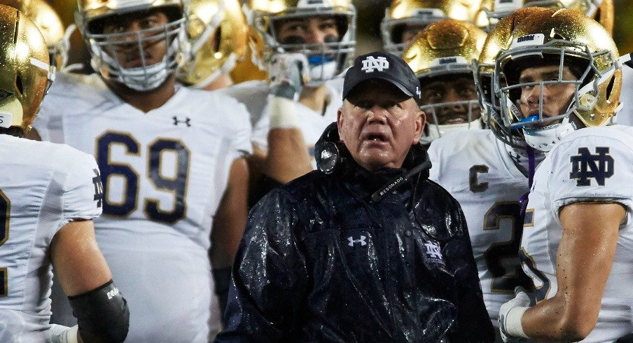 There will be no CFP bye for Brian Kelly and the Irish.