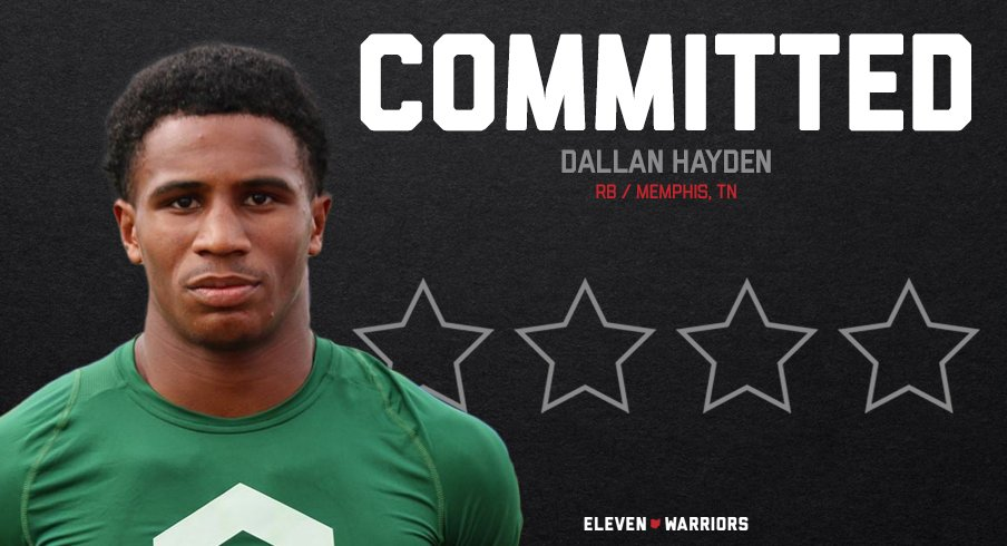 Dallan Hayden is the latest addition to Ohio State's 2022 class.