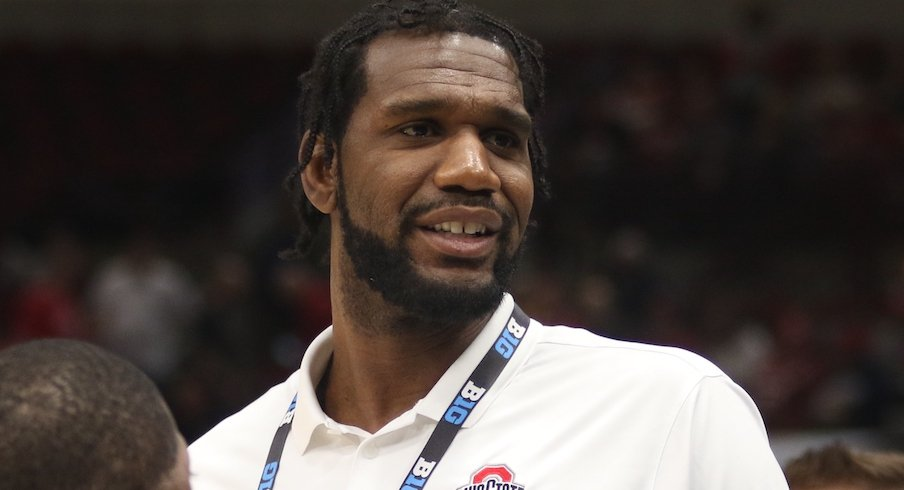 Greg Oden is back on the Ohio State coaching staff.