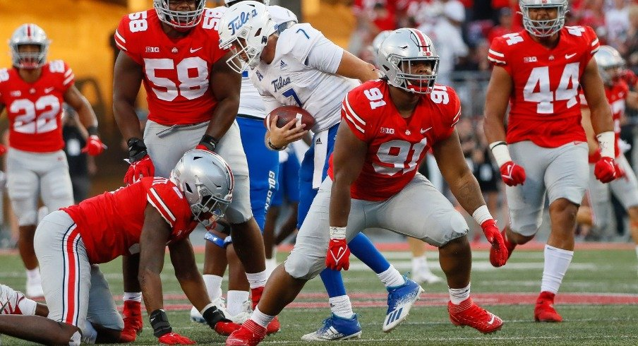 Fourth-Quarter Sack Earns True Freshman Tyleik Williams Increased Role At Defensive Tackle | Eleven Warriors - Eleven Warriors
