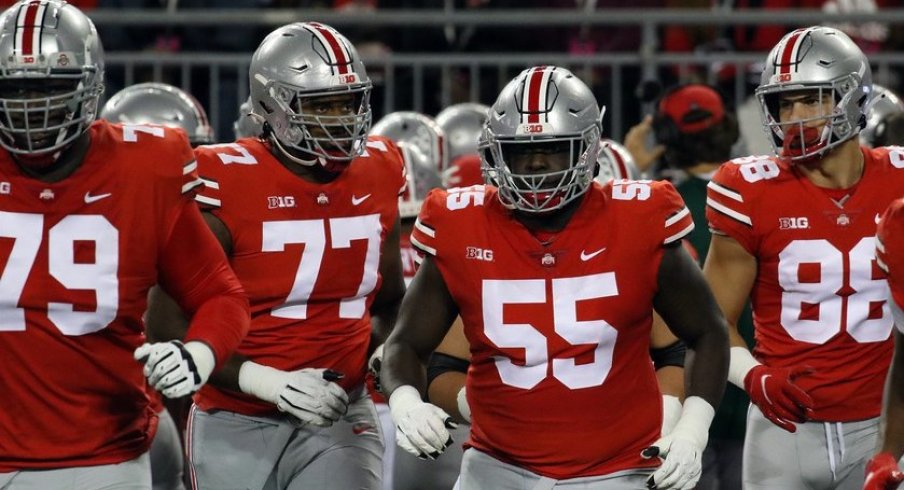 Ohio State has one of the best offenses in America thanks to a dominant offensive line.